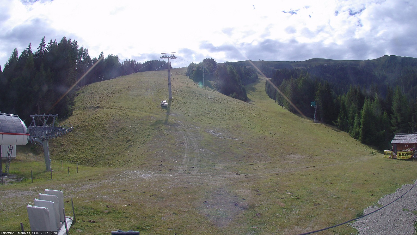 Goldeck Bärenbiss - Talstation